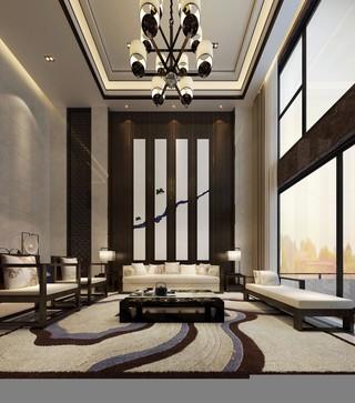 中式风格别墅设计效果图