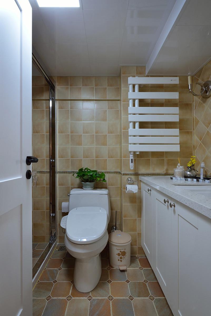 120平复式二居卫生间装修效果图
