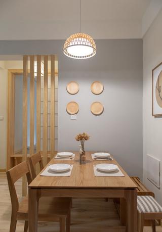 日式风格两居室餐厅装修效果图