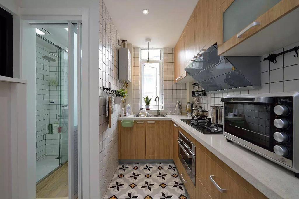 小户型两居室装修厨房搭配图