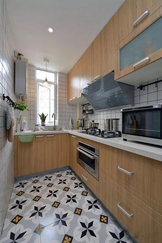 小户型两居室装修橱柜效果图