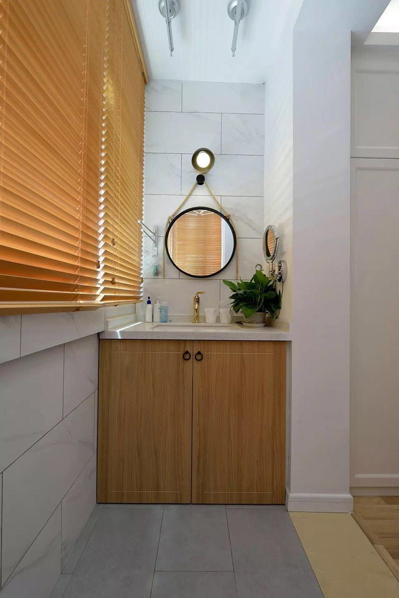 小户型两居室装修洗手台设计图