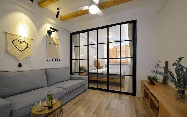 小户型两居室装修设计效果图