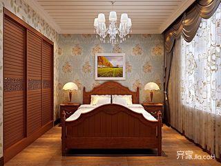 复古美式风格卧室每日首存送20