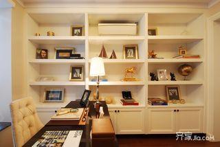 欧式风格三居室书房装修效果图