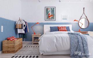 北欧宜家风格卧室装修效果图