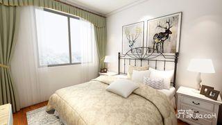 美式简约卧室装修效果图
