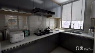 110平现代风格厨房装修注册送300元现金老虎机图