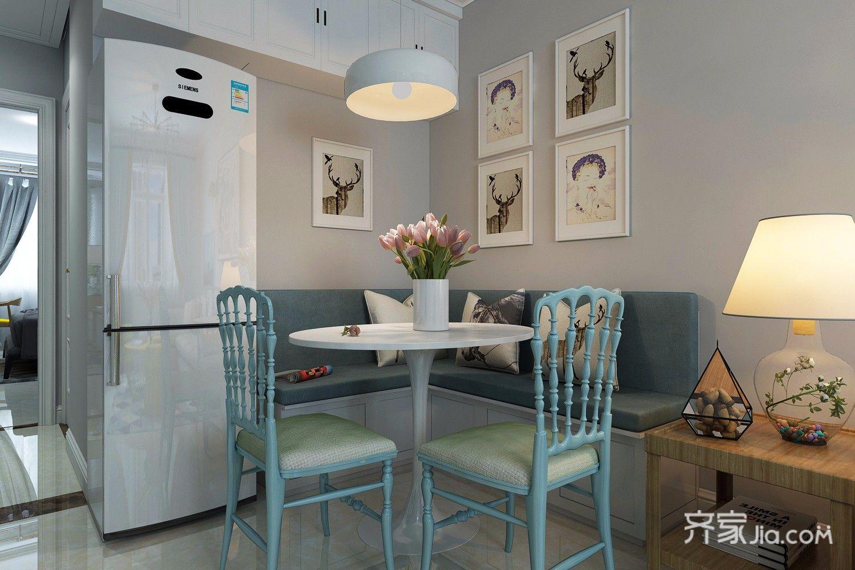 75平米二居室餐厅装修效果图