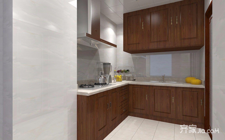 140㎡新中式风格厨房装修效果图