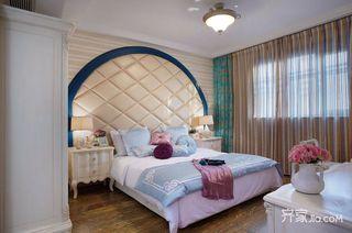 地中海混搭三居卧室装修效果图