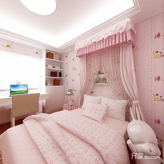 130平欧式三居儿童房装修效果图