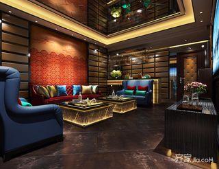 中式风格大户型别墅影音室装修效果图