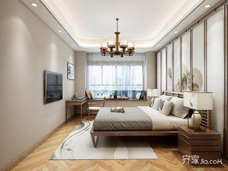 新中式大户型卧室装修搭配图