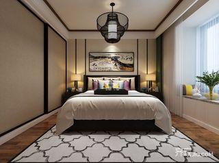 新中式风卧室装修效果图