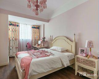 120㎡三居室美式儿童房装修效果图