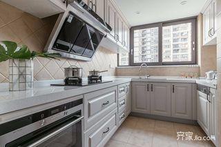 120㎡三居室美式厨房装修效果图