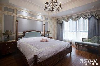 108平欧式三居卧室装修效果图