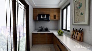 140平米中式风厨房装修效果图