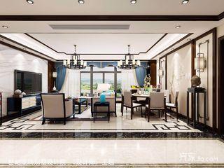 140㎡新中式四居装修效果图