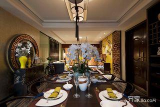 新中式风格两居室餐厅装修效果图