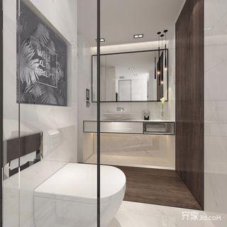 大户型简约风格别墅卫生间装修效果图