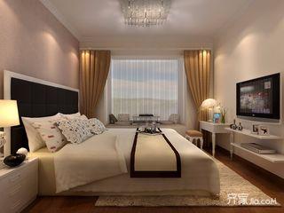 小户型简欧风格两居卧室装修效果图