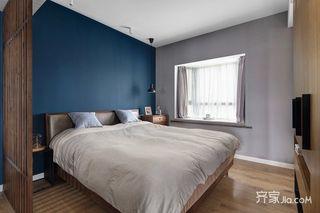 130平现代北欧风卧室装修效果图