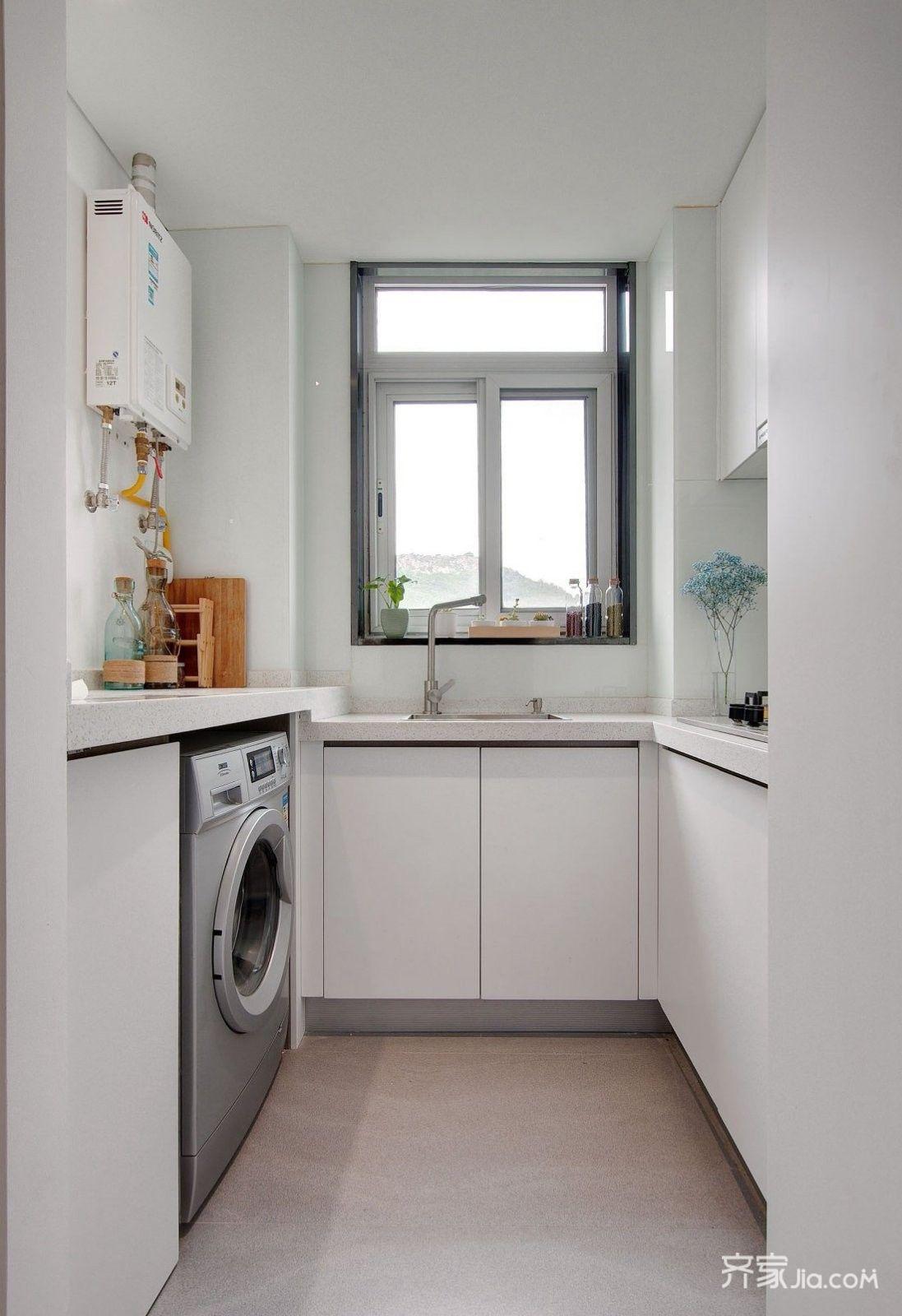 小户型现代风格一居厨房装修效果图