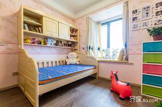 120平现代简约二居儿童房装修效果图