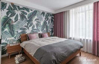 90平北欧风两居卧室装修效果图