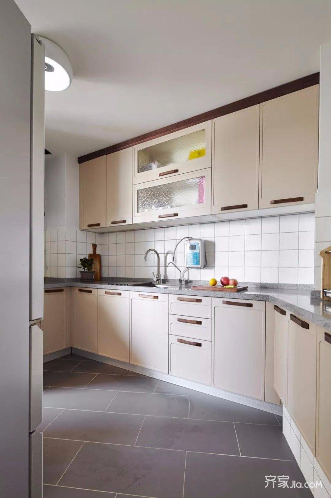 大户型北欧风格装修厨房布局图