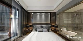 现代简约低奢三居卧室装修效果图
