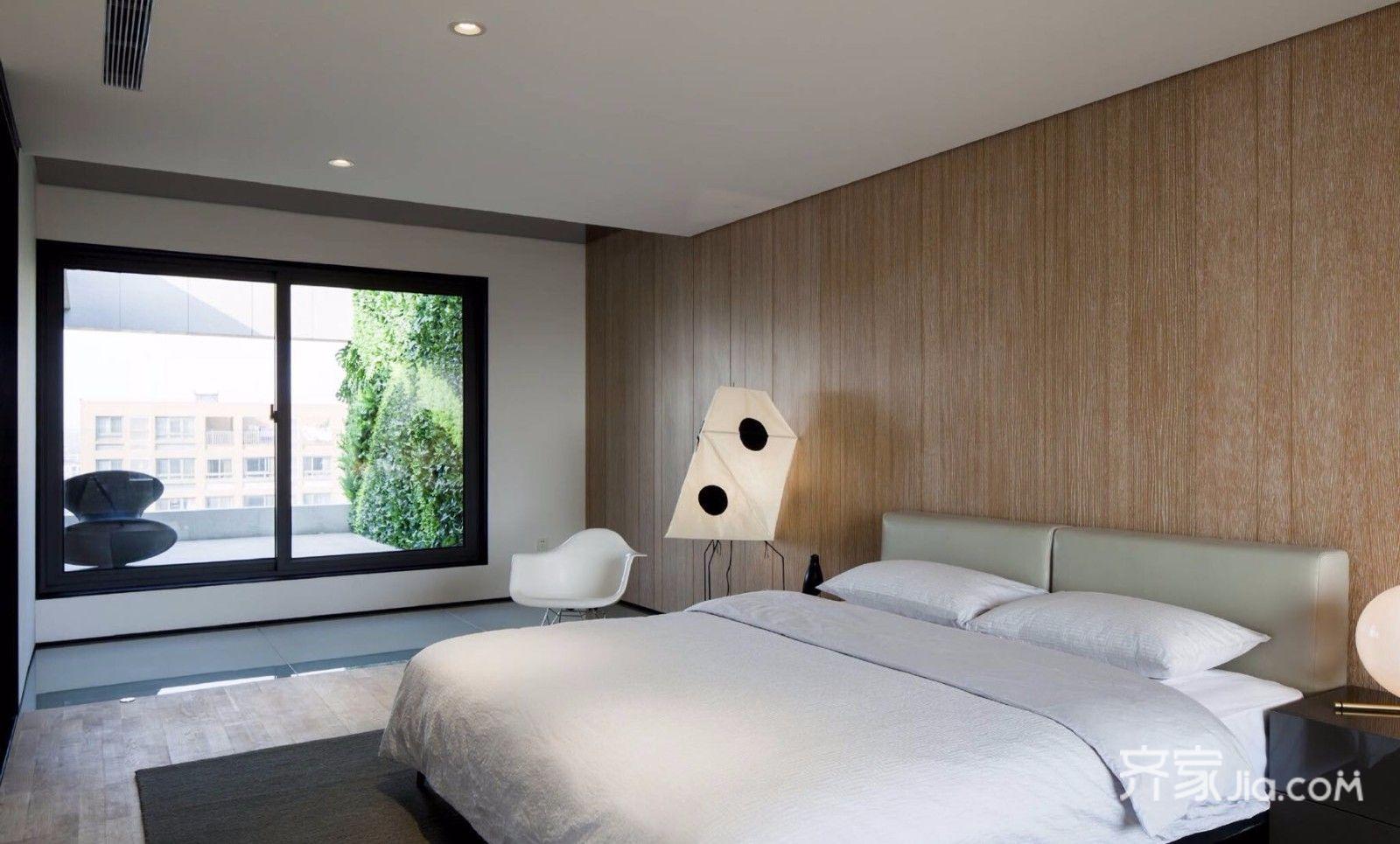 大户型极简风格卧室装修效果图