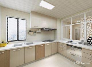 三居室现代北欧混搭厨房装修效果图