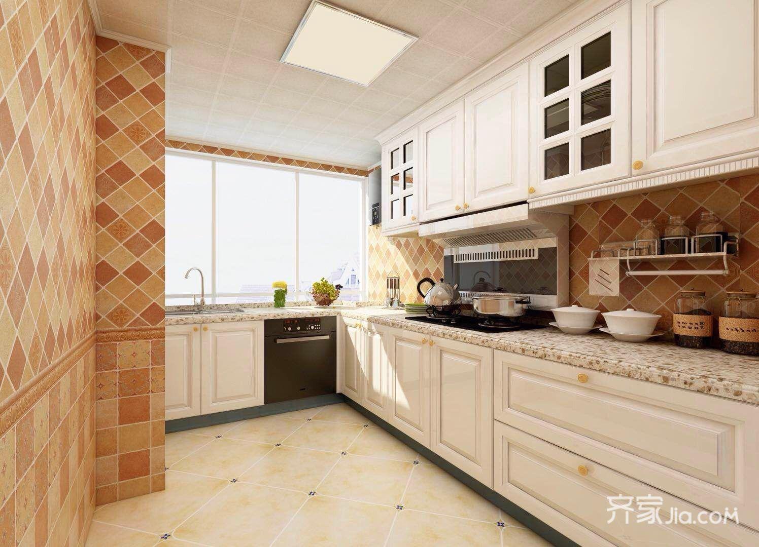106平米混搭风格厨房装修效果图