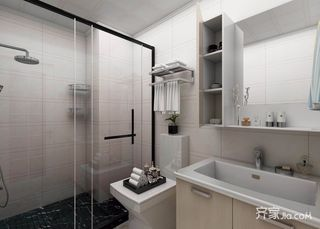 小户型北欧一居室卫生间装修效果图