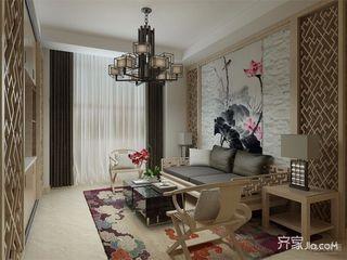 新中式风格两居装修效果图
