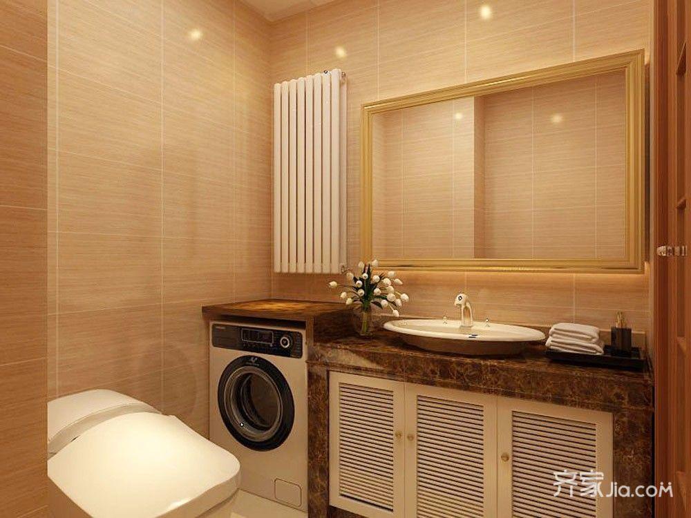 小户型现代简约两居卫生间装修效果图
