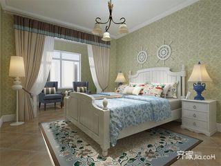 130㎡地中海风格卧室装修效果图