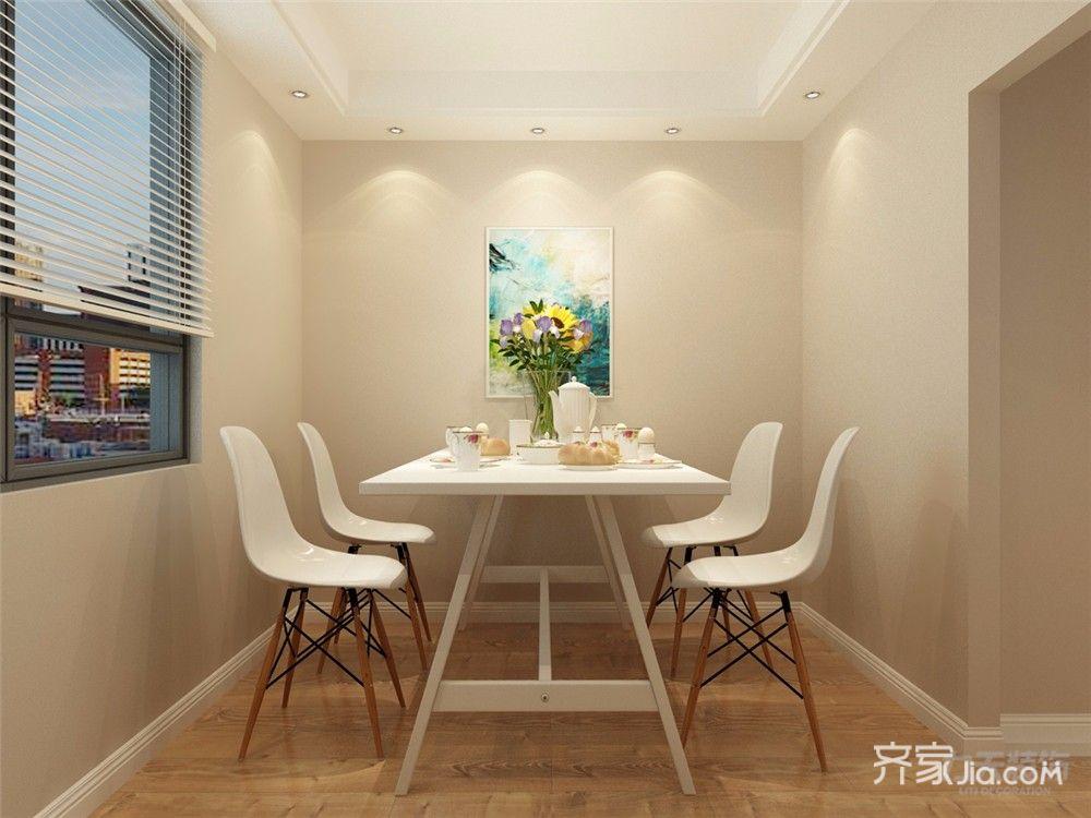 116平现代三居室餐厅装修效果图