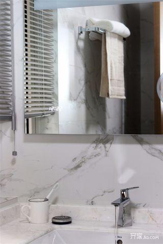 现代北欧三居装修洗手台设计图
