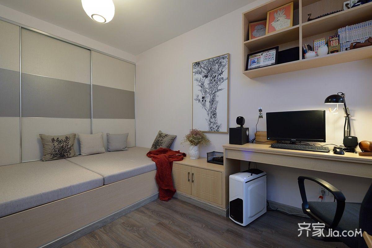 简约风格两居室装修榻榻米效果图