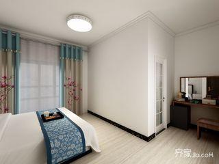 120平米中式风格装修卧室一角