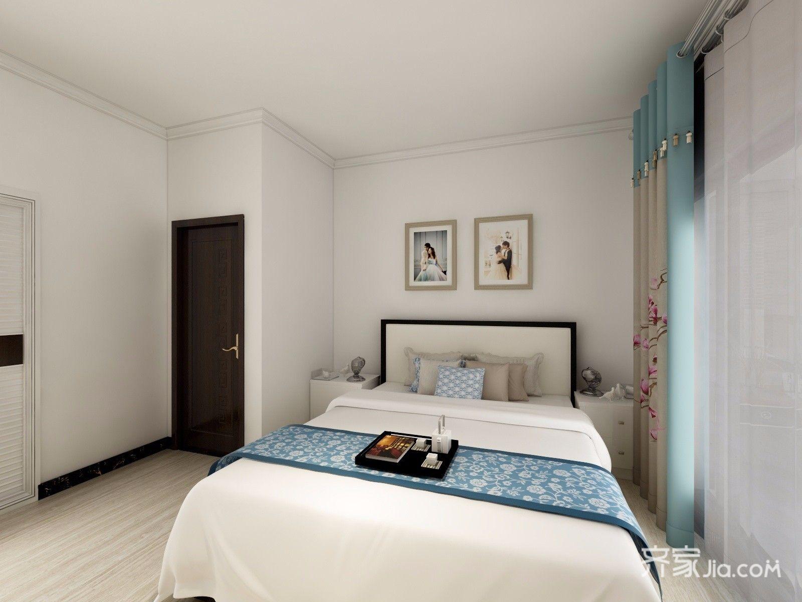 120平米中式风格卧室装修效果图