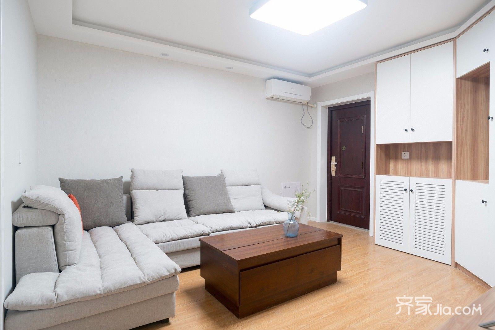 小户型简约一居室客厅装修效果图
