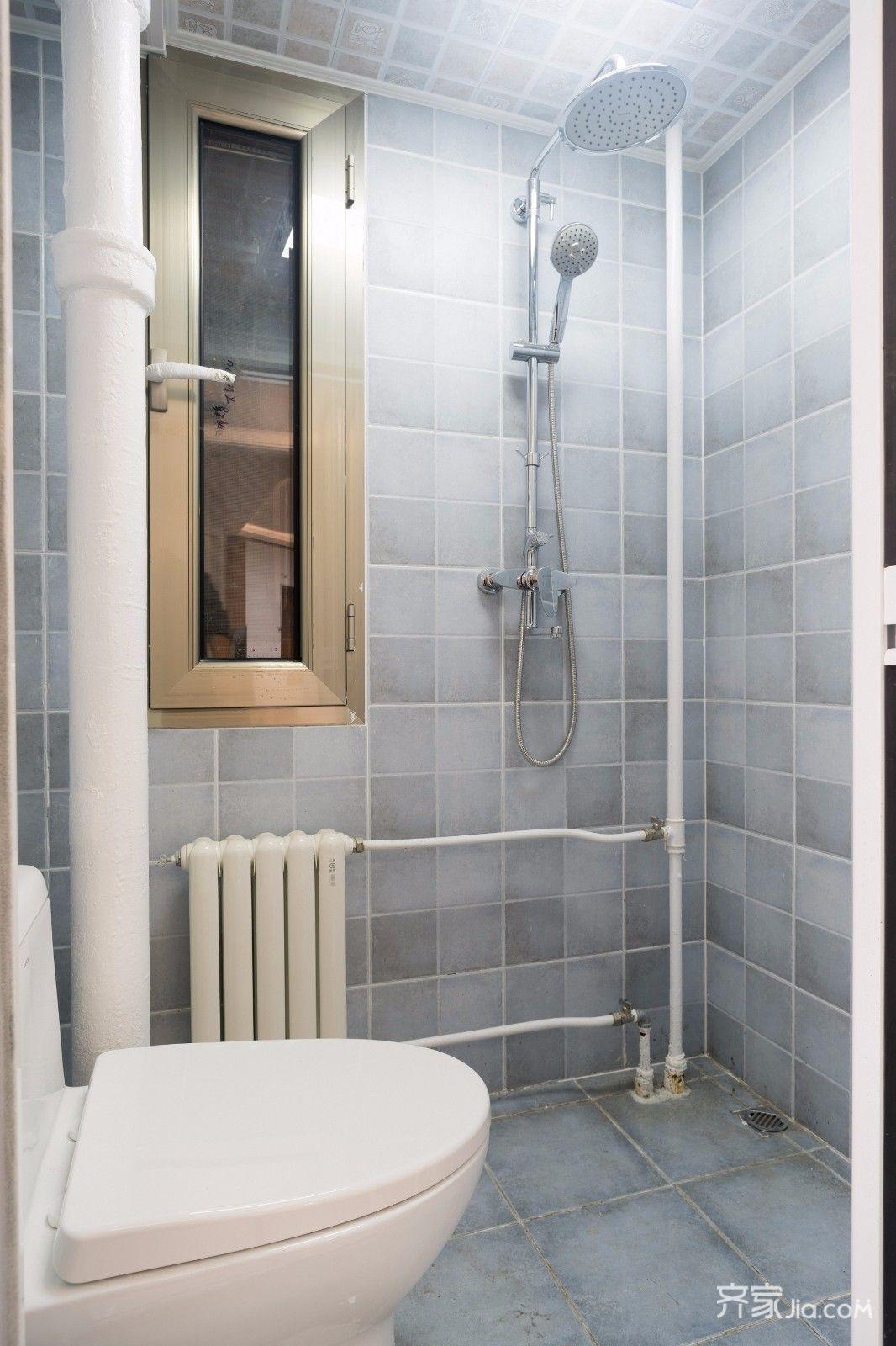 小户型简约一居室卫生间装修效果图