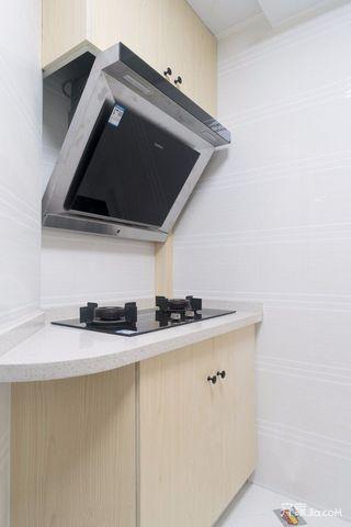 小户型简约一居室装修厨房一角
