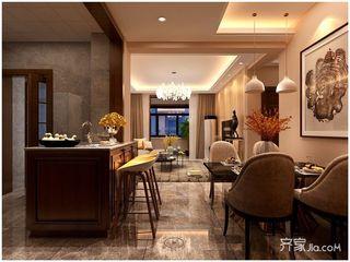 80平现代风格两居餐厅装修效果图