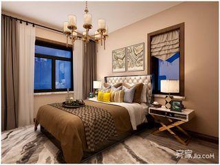 80平现代风格两居卧室装修效果图
